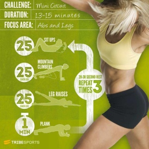 abs legs challenge